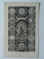 Holy Card 4 Santini Heilgenbild Holycard Images Pieuse Religieuse Image Epinal  Maria Mary 1857 Alois Landfras J.Hrader - Andachtsbilder
