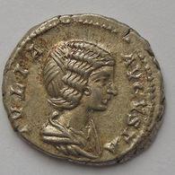 Julia Domna, Denier, PIETAS PVBLICA, TTB/TTB - 4. The Severans (193 AD Tot 235 AD)