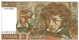 10FRANCS-BERLIOZ-4.3.76-K.286-SUP - 1962-1997 ''Francs''