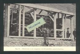 Ligne Frasne-Vallorbe  Construction Du Tunnel Du Mt D'Or - Réservoirs à Air Comprimé Pour La Traction - Reproduction - Non Classificati