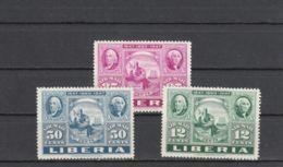 Libéria YT PA 50/2 * : Centenaire Du Timbre - 1947 - Liberia