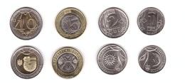Moldova - Set 4 Coins 1 + 2 + 5 + 10 Lei 2018 - 2020 UNC Lemberg-Zp - Moldavie
