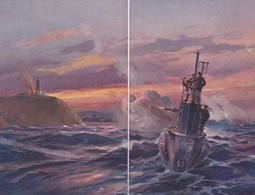 Puzzle Von 2 Ansichtskarten         (200511) - Guerre
