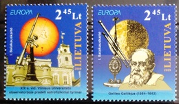 EUROPA        ANNEE 2009      LITUANIE        N° 873/874           NEUF** - Europa-CEPT