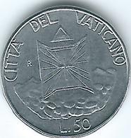 Vatican City - John Paul II - 1990 - 50 Lire - KM222 - Vaticano