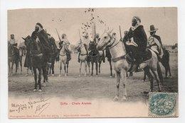 - CPA DIFFA (Algérie) - Chefs Arabes 1904 (belle Animation) - Photo Jean Basin - - Algeria