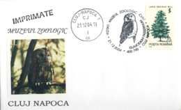 6190  Chevêchette D'Europe: Oblit. Temp. 2004 - Eurasian Pygmy Owl: Pictorial Cancel From Romania. Hibou - Owls
