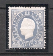 Cabo Verde, 1886, # 22 Dent. 12 3/4, MH - Islas De Cabo Verde