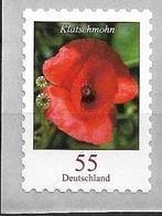 2005 Allem. Fed. Deutschland Germany Mi. 2477  **MNH Folienmarke Nr. 500 Blumen : Klatschmohn - Ongebruikt