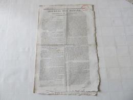 NAPOLEON / BUONAPARTE - DES NOUVELLES DE SAINTE-HELENE - JOURNAL DES DEBATS De 1816. - 1800 - 1849