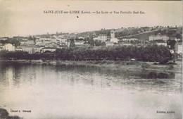 42 - Saint-Just-sur- Loire - La Loire Et Vue Partielle Sud-est - Saint Just Saint Rambert