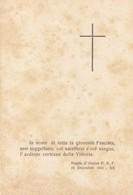 Santino Di Guerra Da Salvatonica Di Bondeno - Storia Postale