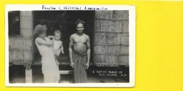 A Native Family (Famille Chinoise) (Grogan Danville) NEW GUINEA Nouvelle Guinée - Papua Nuova Guinea