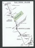 Tracé De La Ligne Frasne-Vallorbe - Non Classificati