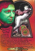 CPM Timbre Monnaie Tirage Limité 30 Ex Numérotés Non Circulé Francis CARCO Colette Nude Villefranche De Rouergue - Villefranche De Rouergue