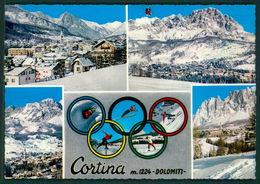 Belluno Cortina Olimpiadi Invernali A Cortina 1956 FG Vb46 - Belluno