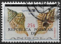 Angola – 1977 Shells Surcharged 25$ Used Stamp - Angola
