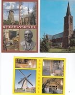Rijkevorsel St-Willibrorduskerk- Molen - Rijkevorsel