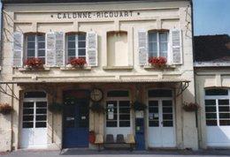PHOTO 15 X 10 DE CALONNE RICOUART LA GARE TRAIN - France