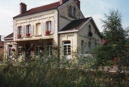 PHOTO 15 X 10 DE CALONNE RICOUART LA GARE FACADE - France