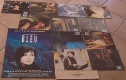 AFFICHE CINEMA ORIGINALE FILM TROIS COULEURS BLEU + 11 PHOTOS EXPLOITATION BINOCHE KIESLOWSKI 1993 TBE - Afiches & Pósters