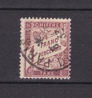 Frankreich - Portomarken - 1896 - Michel Nr. 34 - Gest. - 550 Euro - 1859-1955 Gebraucht