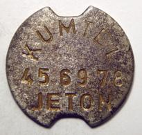 Turkey - Kumtel Telephone Token, Steel - Jetons En Medailles