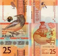 ARUBA       25 Florin       P-New       1.1.2019       UNC - Aruba (1986-...)