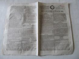 SALINS , CETTE MALHEUREUSE VILLE - LE COURRIER FRANCAIS DE 1826. - Journaux - Quotidiens