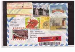 TEM6595 -   BUENOS AIRES 23.5.2002   /  REGISTERED COVER TO Germnay - Storia Postale