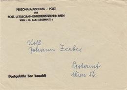 V1 - Brief Der Post 1960, Postgebühr Bar Bezahlt (Brief Mit Inhalt) - Faire-part