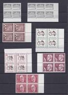 Berlin -  1956/60 - Sammlung - Viererblocke - Postfrisch - Berlin (West)