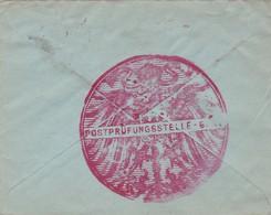 2 Scans Enveloppe Publicitaire OC3 Antwerpen Anvers Gent Cachet Cendure Militaire Gent - Guerre 14-18