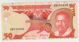 Tanzania 50 Shillings (1992) Pick 19 UNC - Tanzanie