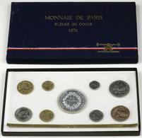 FRANCE COFFRET FLEURS DE COINS 1974 - Other