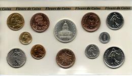 FRANCE COFFRET FLEURS DE COINS 1983 SANS BOITAGE - Francia