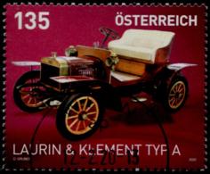 Austria 2020, Laurin & Klement Typ A USED / GESTEMPELT /O - 2011-... Gebraucht