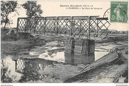 CPA 59 Cambrai Le Pont De Marquion Ligne De Boisleux Marquion Cambrai - Cambrai