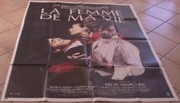 AFFICHE CINEMA ORIGINALE FILM LA FEMME DE MA VIE + 10 PHOTOS EXPLOITATION WARGNIER BIRKIN MALAVOY 1986 - Posters
