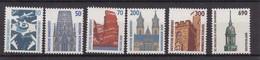 Berlin -  1987/90 - Freimarken : Sehenswürdigkeiten - Rollenmarken Mit Melierfasern -  Sammlung - Postfrisch - Ungebraucht