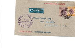 Lettre Histoire Postale     421 - Hong Kong (...-1997)