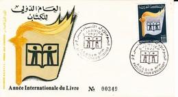 Maroc 1er Jour FDC YT 629 Année Du Livre Agadir 05/01/72 - Maroc (1956-...)