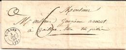 1I3  ---  81  CORDES  Type 15   Taxe 6 (2è échelon De Poids)   1855 - 1849-1876: Periodo Clásico