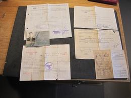 DOCUMENTS DIVERS AU NOM DE CHRISTOPHE Henri -TRAVAIL OBLIGATOIRE EN ALLEMAGNE 1943- Voir Scans - 1939-45