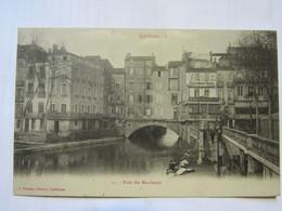 CPA Precurseur   Narbonne Le Pont Des Marchands - Narbonne