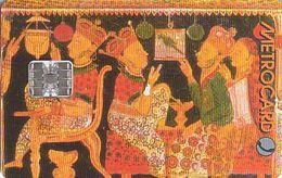 Sri Lanka - Chip RS 300 - Metro Card - Painting - Sri Lanka (Ceilán)