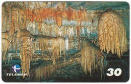 BRASIL M-098 Magnetic Telemar - Landscape, Cave - Used - Brésil