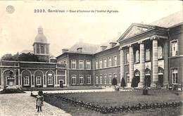 Gembloux - Cour D'honneur De L'institut Agricole Roi Casqué 10 Ct (prix Fixe) - Gembloux