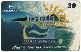 BRASIL M-099 Magnetic Telemar - Advertising, Tourism - Used - Brazil