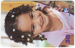 BRASIL M-114 Magnetic Telemar - People, Child - Used - Brésil